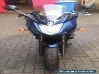 2010 Blue Yamaha XJ 6 S Diversion