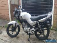 2009 YAMAHA YBR 125 SILVER spares or repair RUNNING BIKE