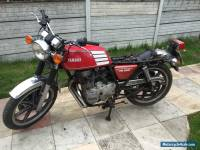 A 1979 Yamaha XS250 250cc Twin - Barn Find type Restoration Project with V5