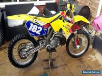 Suzuki rm250 2005 motocross bike a few extras and spares