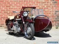 1956 Norton Square 4 w/Garrard Sidecar