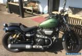 YAMAHA XVS 950 CU Motorbike - XV 950 R ABS GREEN Motorcycle sportster cruiser for Sale