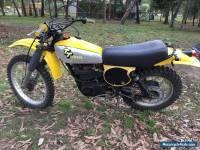 Yamaha TT500E Motorcycle