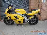 TRIUMPH 955i DAYTONA 2003 MODEL YELLOW GREAT SPORTS BIKE