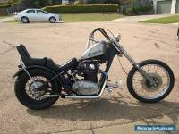 Yamaha XS650 1972 chopper hardtail custom