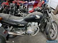 Two Honda CB250, Damaged Motorcycles