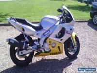 1997 YAMAHA YZF 600 R SILVER track bike