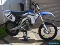 Yamaha YZ450F 2013