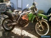 Kawasaki kl 250D