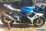 2012 SUZUKI GSXR 750 L1 BLUE  for Sale