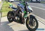 2014 Kawasaki Z1000 ABS Special Edition - 9000kms - 2nd Owner for Sale