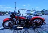 1934 Harley-Davidson VL for Sale