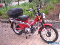 HONDA CT 110 Postie Bike - 2012 in Exc Condition suit Farm, Postie Challenge etc