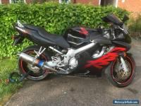2001 HONDA CBR 600 F BLACK