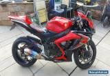 2008 SUZUKI  GSXR K6 RED/BLACK for Sale