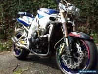 2003 SUZUKI GSX-R1000 K2 WHITE/BLUE