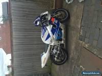 2000 SUZUKI GSX R600X WHITE/BLUE