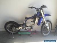 Yamaha YZ250F 2003 NO RESERVE unfinished project