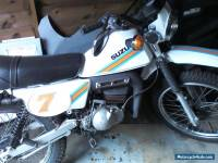 SUZUKI TS50ER 1982