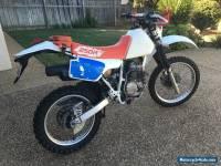 Honda XR250R registered