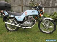 1980 HONDA  CB250NA Superdream BLUE