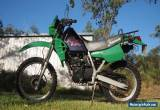 Kawasaki KLR250 2000 Motorcycle, Registered, Dual Sport for Sale