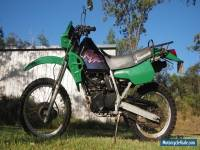 Kawasaki KLR250 2000 Motorcycle, Registered, Dual Sport