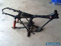 Honda XL125 classic Trail bike  Frame with V5 documents