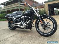 HARLEY DAVIDSON OCT 2013 BREAKOUT FXSB103 2500KL AS NEW $5000 OF EXTRAS