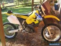 Suzuki Trail Bike RMX250 1999 with racing carby