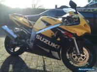2001 SUZUKI GSXR 600 K1 YELLOW/BLACK