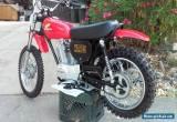 1976 Honda XR for Sale