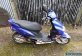 Yamaha Jog 50 RR Scooter Moped Blue 2005 Spares Repair  for Sale