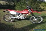 HONDA XR250 for Sale