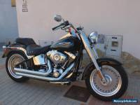 harley davidson fat boy in spain