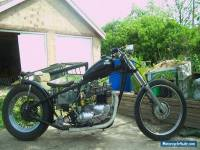 Triumph bobber-chop `65 Bonnie