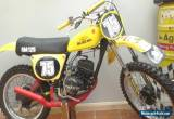 Vintage Suzuki RM 125 1975 (WATCH THE VIDEO) for Sale